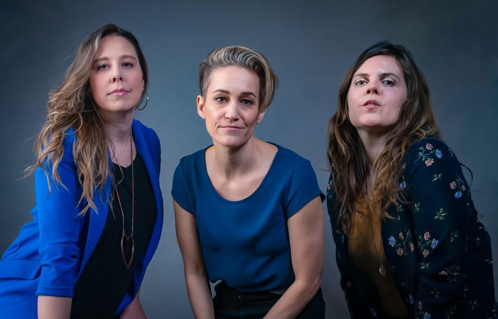L-R: Amanda Konkin, Luvia Petersen, Huelah Lander - photo by Jessie Robertson